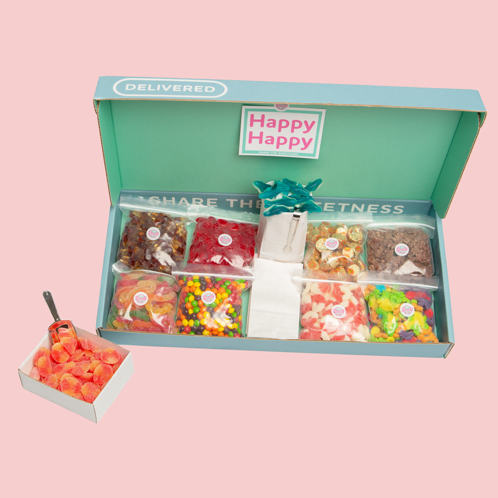 8 pack Sweet Delivery Box